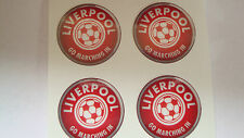 "12  LIVERPOOL  CROWN GREEN BOWLS STICKERS  1""  LAWN BOWLS FLAT GREEN INDOORBOWLS"