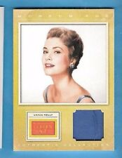 PRINCESS GRACE KELLY WORN RELIC SWATCH MATERIAL CARD 2012 PANINI GOLDEN AGE