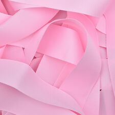 "Grosgrain Ribbon 1 3 or 5 Metre Cut of 38mm - (1 1/2"") in 64 Plain Solid Colours"