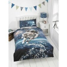 Kids Glow in the Dark  Space Walker Duvet Cover Set Single Size-bm