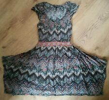 Warehouse dress uk 12  multi coloured used MINT