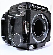 Mamiya RB67 Professional Medium Format Body, 120 Film Back Excellent F/Shipping