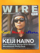 rivista WIRE 221/2002 Keiji Haino John Coltrane Simon Fisher Turner  No cd