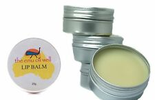 NATURAL Lip Balm Set of 6 LICORICE ORANGE VANILLA STRAWBERRY PEPPERMINT PLAIN