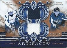 A.OVECHKIN / N.BACKSTROM 10/11 ARTIFACTS DUAL JERS /125