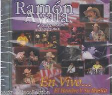 Ramon Ayala CD NEW En Vivo ALBUM El Hombre Y Su Musica SEALED