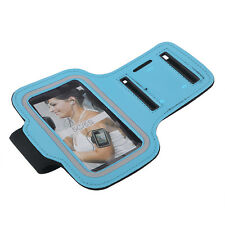 For iPhone 4S 5S Gym Running Jogging Arm Band Sports Armband Case Holder PURPLE