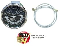 Tachometer & cable John Deere 80, 820, 830 - 2 cylinder Tractor Tach hour meter