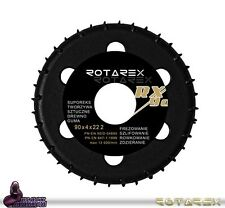 "Rotarex RX 90mm Shaping Disc for 4-1/2"" Angle Grinder RX90 90 x 20 x 22.2mm"