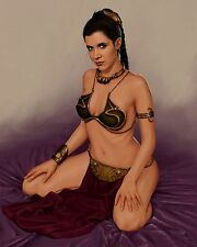 "Carrie Fisher 10"" x 8"" Photograph no 43"