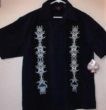 DRAGONFLY ROADHOUSE BUTTON FRONT SHIRT BOWLING SHIRT OR FOR WHATEVER SHIRT - 3XL