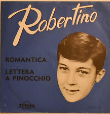 "ROBERTINO - ROMANTICA - LETTERA A PINNOCHIO Single 7"" (i 768)"