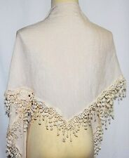 Boho Hippie Tribal Fusion Gyspy Belly Dance Dancing Hip Scarf Lace Fringe Belt