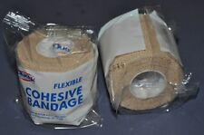 """(2x) First Aid Only Cohesive Bandage Wrap 2"""" x 5 Yard J611-LF Yd Sports Horse"""