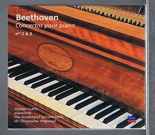 BEETHOVEN CD NEW PIANO CONCERTOS 2 & 3 STEPHEN LUBIN/ CHRISTOPHER HOGWOOD
