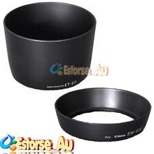 New Camera EW-60C + ET-60 Lens Hood 2 Set For Canon EF 18-55mm & 55-250mm