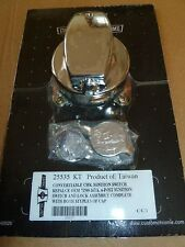CONVERTIBLE 2 CAP  CHROME 6 POST  IGNITION SWITCH HARLEY DAVIDSON AND CUSTOMS ,