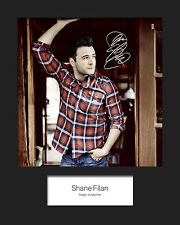 SHANE FILAN 10x8 SIGNED Mounted Photo Print - FREE DELIVERY