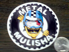 "METAL MULISHA 3"" Round CRASH Sticker Car Window Decal Riding Gear Nitro Circus"