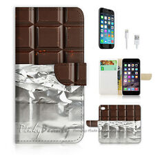iPhone 6 / 6S (4.7') Flip Wallet Case Cover! P0734 Chocolate