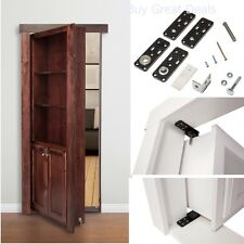 Hidden Door Hinges Invisible for Cabinet Doors Murphy Hinge System Secret Door