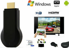 Chiavetta HDMI mod Chromecast.Dongle Wifi Display Mirror TV Airplay Streaming HD