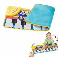 Floor Piano Mat Giant Toy Keys Play Step On Keyboard Gigantic For Kids Toy Music