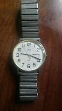 vintage men's timex day/date 12/24 watch