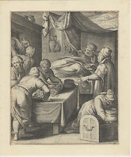 Gravure XVIIe s (1612), Otto Van Veen. Engraving, kupferstich, incisione 17th