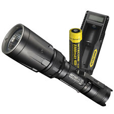 Nitecore SRT7GT 1000 Lumen Multi-Color LED Tactical Flashlight w/ Charging Kit