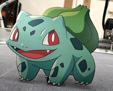 Limited Edition Pokemon GO Bulbasaur Metal Laser Cut and Print
