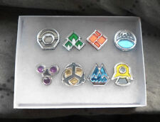 Pokemon Sinnoh Region 8 Piece Gym Leader Badge Set - Cosplay Costume Prop