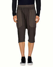 $395. NEW SILENT DAMIR DOMA DROP RISE DUST COTT. SWEAT SHORTS TAG SIZE M FITS 32