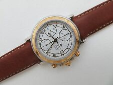 Mens Swiss Made RAYMOND WEIL PARSIFAL 18K/SS AUTOMATIC CHRONOGRAPH Watch 7789