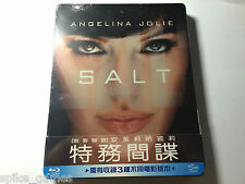 Salt Taiwan Blu-ray Steelbook Brand New & Sealed Mint Condition