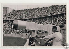 CANON GEANT CAMERA TELEVISION STADE GERMANY JEUX OLYMPIQUES 1936 OLYMPIC GAMES