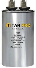 Titan TOCF20 20 MFD 440/370V Dual Rated Oval Run Capacitor - New
