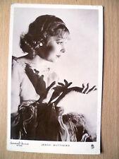 Vintage Gaumont British Star Real Photograph Postcard- JESSIE MATTHEWS