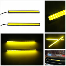 Auto SUV Off Road 17cm Yellow LED Waterproof Daytime Running Driving Fog Lights