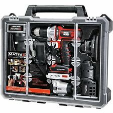 BLACK & DECKER Matrix 6 TOOL COMBO KIT, POWER TOOLS SET CASE, BDCDMT1206KITC