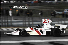 9x6 Photograph, Brett Lunger , F1 Hesketh-Cosworth 308 , US GP Watkins Glen 1975