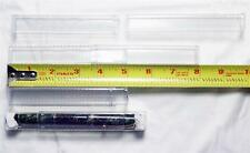 ".63"" ID / 4.725"" to 7.875""  Adjustable Length PVC Clear Square Packaging Tube"