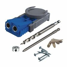 Kreg Drill Jig Pocket Hole Screws Bit System Kit Power Hand Woodworking Tool New