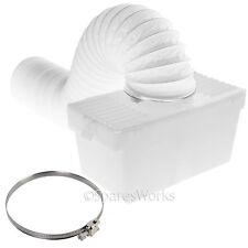 1 Metro De Montaje En Pared Condensador Caja Con Manguera Y Clip para el Swan Secadora
