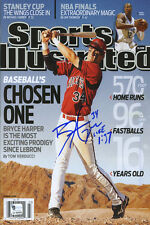 Bryce Harper Sports Illustrated Autograph Poster - Washington Nationals