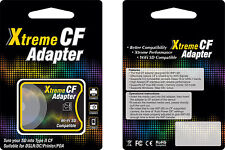 EXTREME SD SDHC SDXC TO COMPACT FLASH CF TYPE II MEMORY ADAPTER