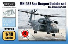 Wolfpack 1:48 MH-53E Sea Dragon Update Set for Academy MRC Kit -Resin #WP48189