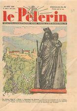 Madone Vierge Notre-Dame des Châteaux Château de Beaufort Savoie WWII 1939