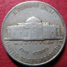 "*SCARCE ""KEY DATE""  1938-D  JEFFERSON  NICKEL, DENVER Mint 1st YR MINTAGE #5"