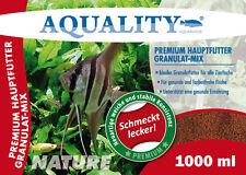 (5,99€/l) AQUALITY PREMIUM Hauptfutter Granulat-MIX 1.000 ml Cichliden Futter